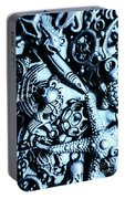 In Blue Nautilus  Portable Battery Charger