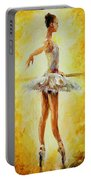 In The Ballet Class Portable Battery Charger