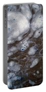 In The Beginning - Creationism Expressionism Portable Battery Charger
