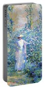 In The Flower Garden 1900 Portable Battery Charger