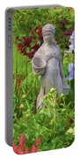 In The Flower Garden Portable Battery Charger