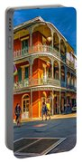 In The French Quarter - 2 Paint Portable Battery Charger