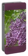 In The Garden. Lilac Portable Battery Charger