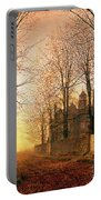 In The Golden Olden Time Portable Battery Charger by John Atkinson Grimshaw
