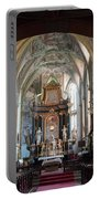 In The Gothic-baroque Church Portable Battery Charger