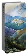 In The Mountains Portable Battery Charger