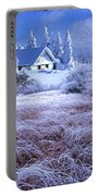 In The Snowy Forest Portable Battery Charger
