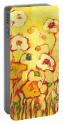 In The Summer Sun Portable Battery Charger by Jennifer Lommers