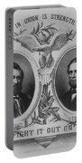 In Union Is Strength - Ulysses S. Grant And Schuyler Colfax Portable Battery Charger