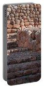 Inca Steps At Chinchero  Portable Battery Charger