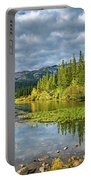 Incoming Storm At Twin Lakes Portable Battery Charger
