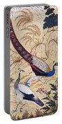 India: Peafowl, C1610 Portable Battery Charger