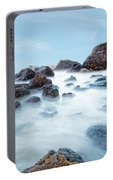 Indian Beach At Ecola State Park, Oregon  Portable Battery Charger