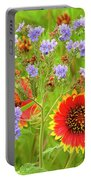 Indian Blanketflowers Gaillardia Puchella Portable Battery Charger