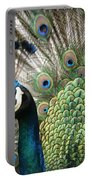 Indian Blue Peacock Puohokamoa Portable Battery Charger
