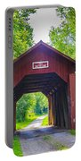 Indian Camp Covered Bridge Portable Battery Charger