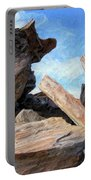 Indian Canyon Rocks Portable Battery Charger