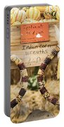 Indian Corn Wreaths Portable Battery Charger
