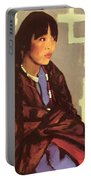 Indian Girl Of San Ildefonso 1917 Portable Battery Charger