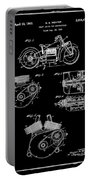 Indian Motorcycle Patent 1943 Black Portable Battery Charger