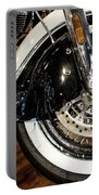 Indian Motorcycle Wheel Portable Battery Charger