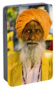 Indian Old Man Portable Battery Charger