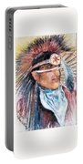 Indian Portrait Portable Battery Charger