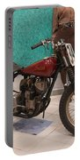 Indian Racing Motorcycle 34 Portable Battery Charger