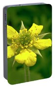 Indian Strawberry Flower Portable Battery Charger