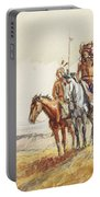 Indian War Party Portable Battery Charger