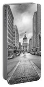 Indiana State Capitol Building Portable Battery Charger by Howard Salmon