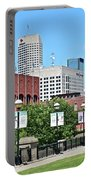 Indianapolis From The Park Portable Battery Charger