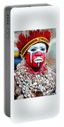 Indigenous Woman L A Portable Battery Charger
