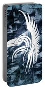 Indigo Bird Flight Contemporary Portable Battery Charger