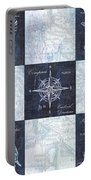 Indigo Nautical Collage Portable Battery Charger
