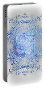 Indulgent Blue Lace Portable Battery Charger