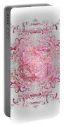Indulgent Pink Lace Portable Battery Charger
