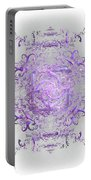 Indulgent Purple Lace Portable Battery Charger
