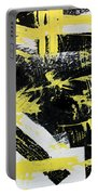 Industrial Abstract Painting I Portable Battery Charger