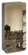 Industrial Decay Sepia 1 Portable Battery Charger