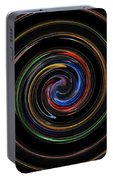 Infinite, Ever Expanding Image. Colorful And Classic Spiral Digital Art That Can Enhance Your Mood. Portable Battery Charger