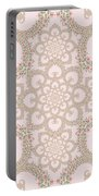 Infinite Lily In Pastels Portable Battery Charger