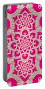 Infinite Lily In Pink Portable Battery Charger