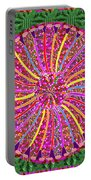 Infinity Star Flower An Abstract Fineart Expression By Navinjoshi At Fineartamerica Colorful Fun Portable Battery Charger