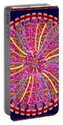 Infinity Star Flower An Abstract Fineart Expression By Navinjoshi At Fineartamerica.  Colorful Fun Portable Battery Charger