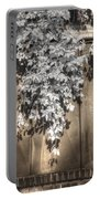 Infrared Botanical Sepia  Portable Battery Charger