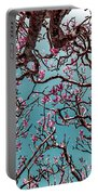 Infrared Frangipani Tree Portable Battery Charger