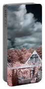 Infrared Glass Pyramids Panorama Portable Battery Charger