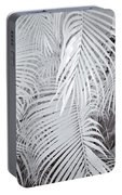 Infrared Palm Abstract Portable Battery Charger