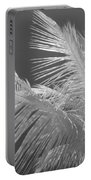 Infrared Palm Trees Portable Battery Charger